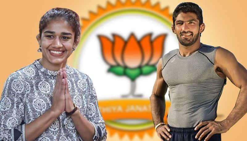 Haryana polls: BJP releases first list, gives tickets to wrestlers Babita Phogat, Yogeshwar Dutt