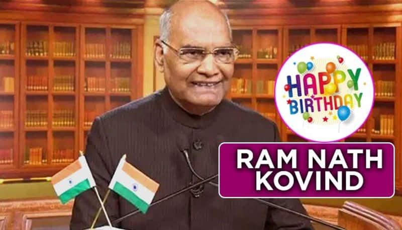 President Ram Nath Kovind 74th birthday wishes pour in