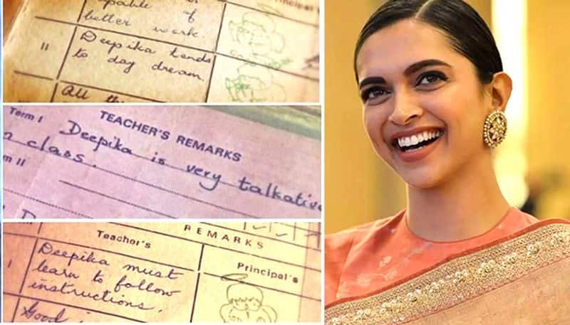 Deepika Padukone's school report cards out, Ranveer Singh calls her 'trouble maker'