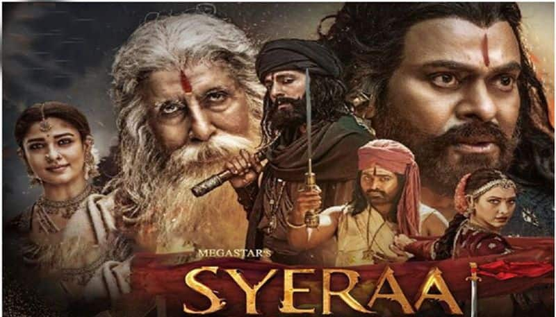 megastar Chiranjeevi's SyeRaa movie creates new record in Chennai