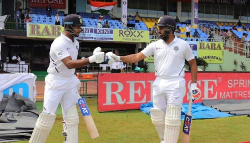 India vs South Africa 1st Test Full list records broken Rohit Sharma Mayank Agarwal