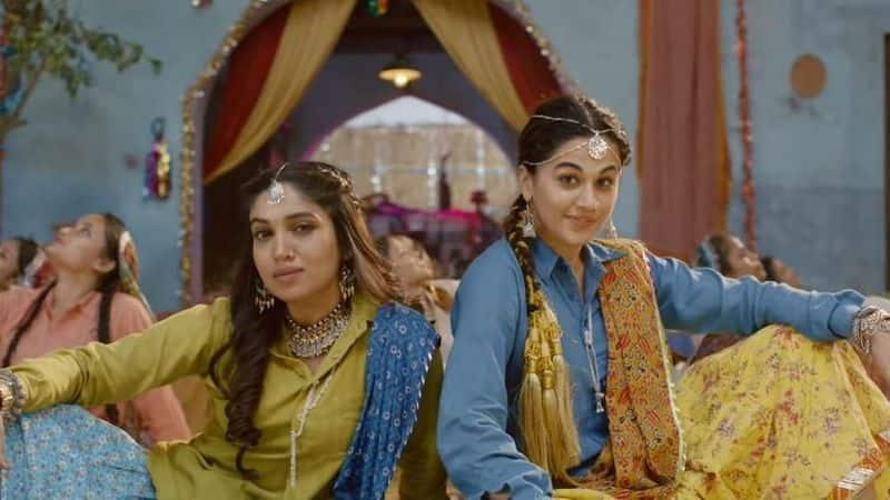 'Saand Ki Aankh' new song: Taapsee, Bhumi shake a leg to celebrate 'Woomaniya'