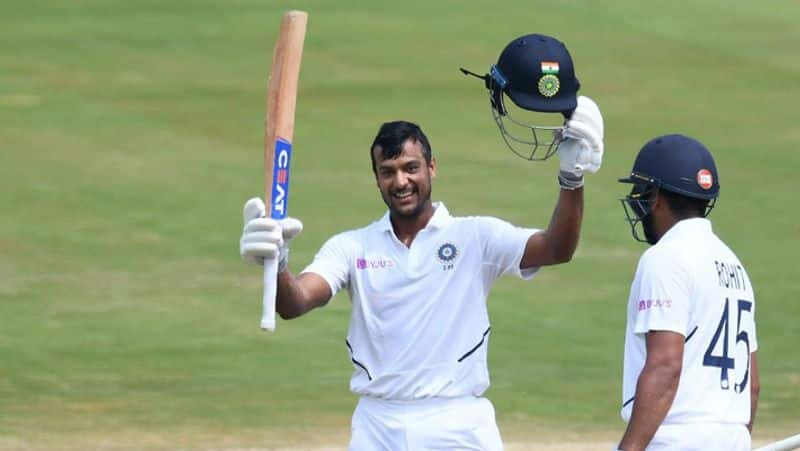 India vs South Africa Rohit Sharma helped Mayank Agarwal score maiden Test ton coach