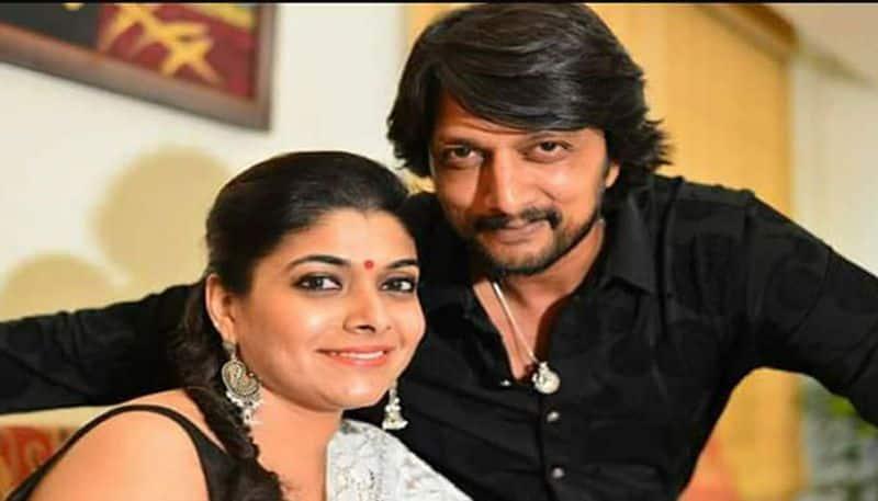 kiccha sudeep's wife priya radhakrishnan praised avuku raju character in sye raa