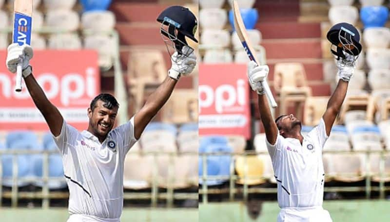 India vs South Africa Long-distance running has helped me double centurion Mayank Agarwal