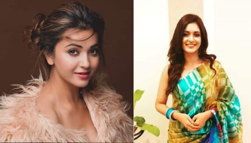 Koushani Mukherjee and Priyanka sarkar look stunning in puja