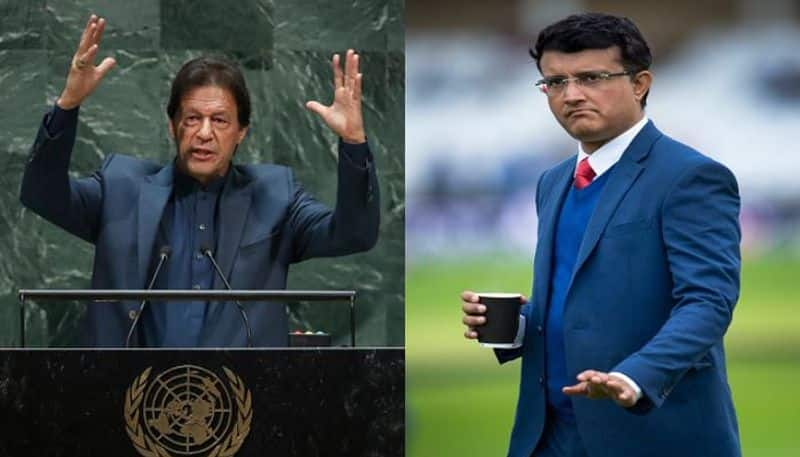 Sourav Ganguly lashes out on Imran Khan said this is not the cricketer world knew