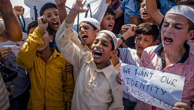 144 juveniles including a 9 year old detained in kashmir after abrogation of article 370