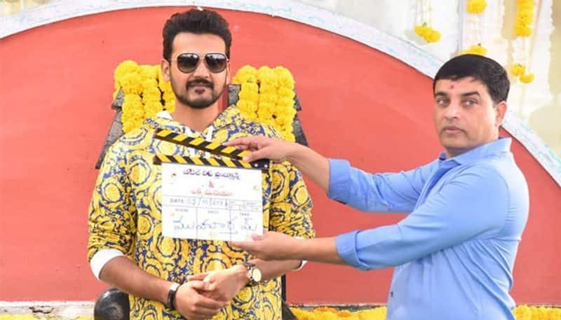 Bellamkonda Ganesh debut movie launched
