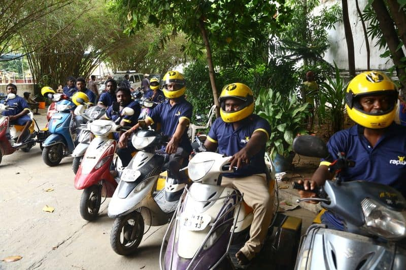 Motorcycle taxi drivers storm in Indonesia hospital to get the body of a baby