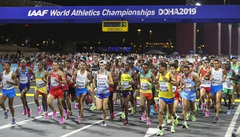 World Athletics Championships India ends campaign Doha fails win medal