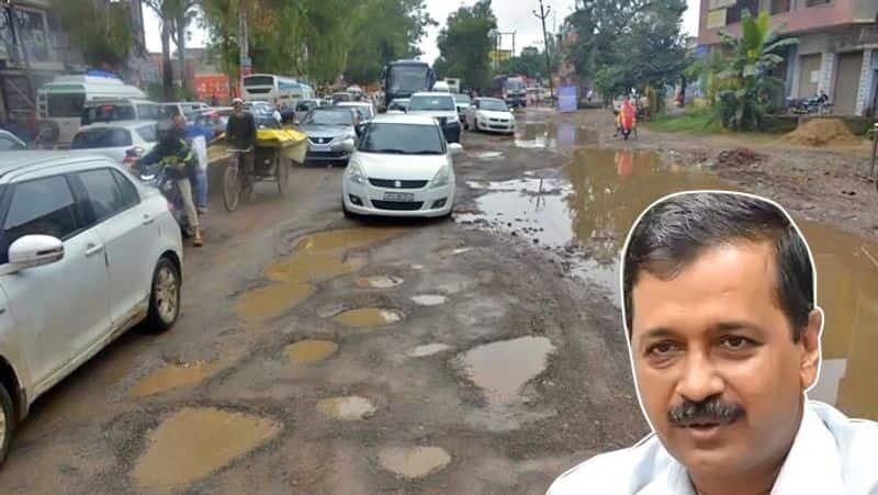AAP MLAs inspect delhi roads