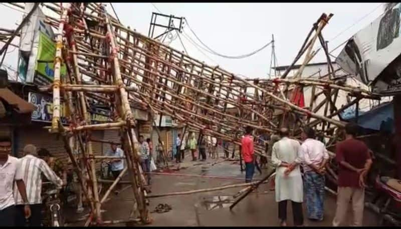 Effects of 10 minutes storm at Basirhat, here is the details