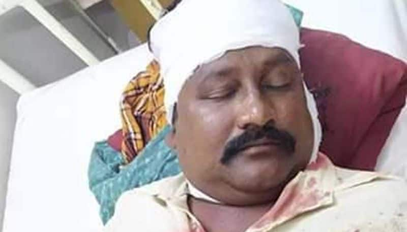 ysrcp activists attack on tdp leader in krishna district