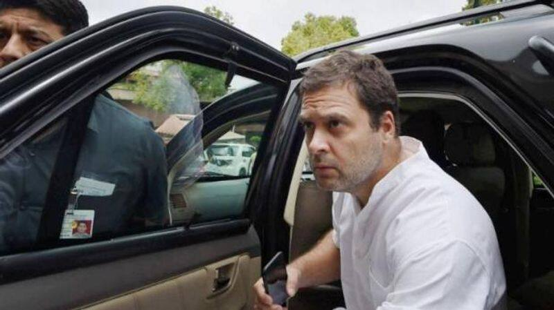 Congress Rahul restricted SPG personnel cover