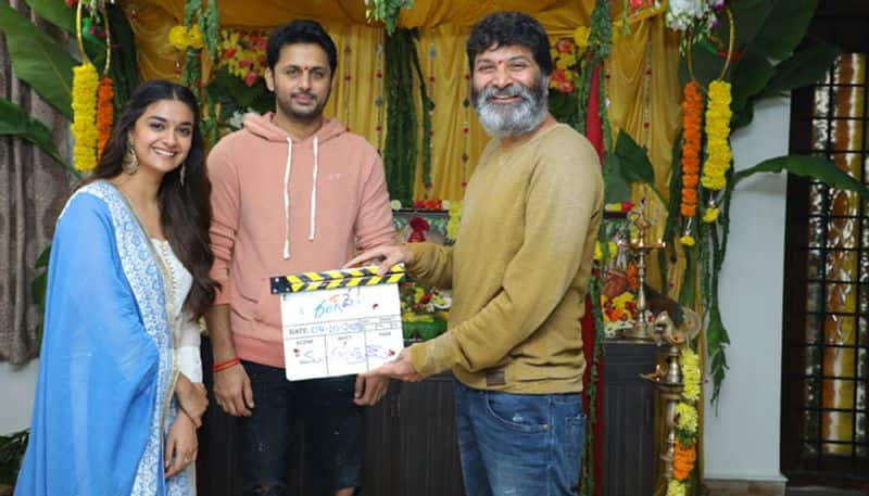 Nithin and Keerthy Suresh's 'Rang De' is launched