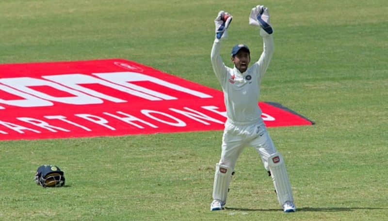 Opportunity for Wriddhiman Saha to surpass Dhoni in Test Series