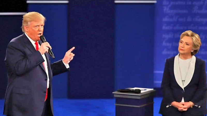 Trump taunt Hillary Clinton : she should contest for presidential elections 2020