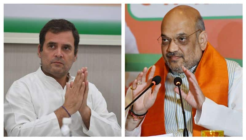 Amit Shah targeted Rahul Gandhi for foreign trip