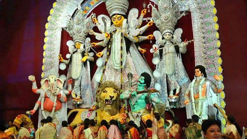 BJP ask for report of contact campaign in bengal's durga puja