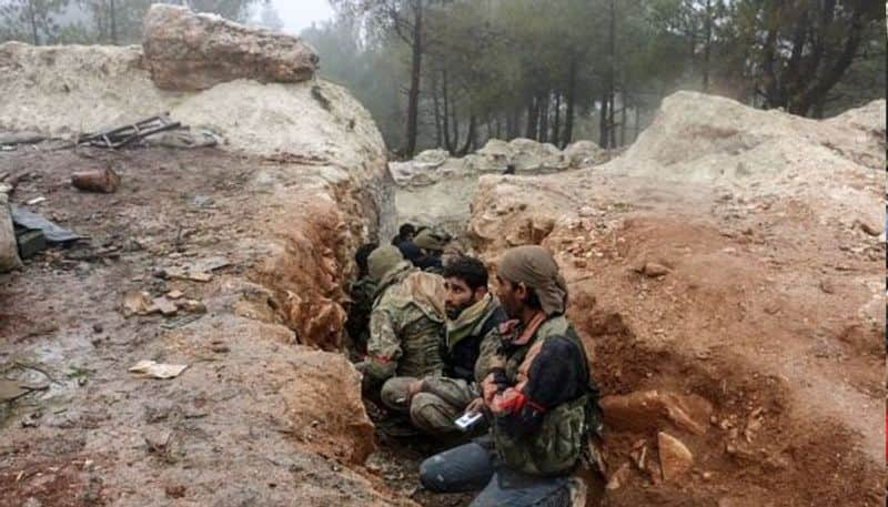 Turkish forces are stepping up air strike in Kurdish held Syria