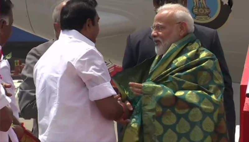 Prime Minister Narendra Modi arrives in chennai, Xi Jinping to come in the afternoon