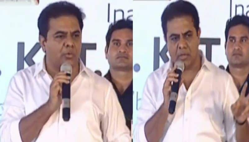 minister ktr fines TRS Party Leader over flexes in city