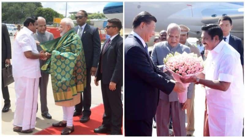 ops eps welcomes china president and they had proud moment in their life