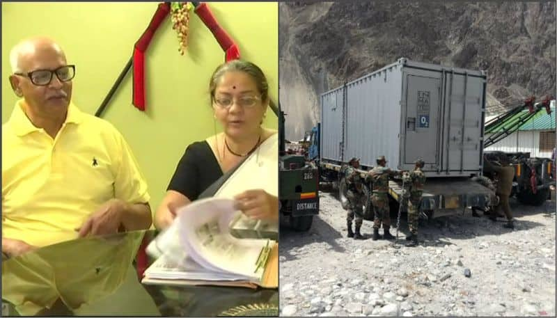 Senior couple has planted oxygen generated special plant in Siachen