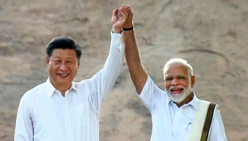 PM-Narendra-Modi-and-Chinese-President-Xi-Jinping-met-second-day