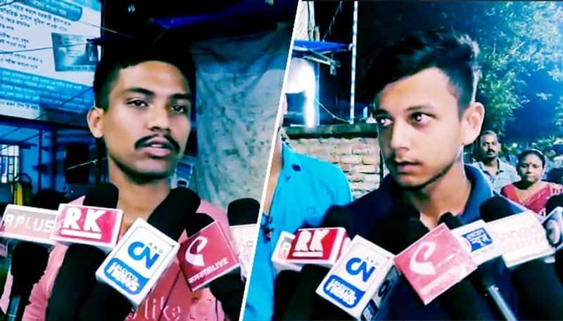 Two students turns saviour for an youth in North 24 parganas