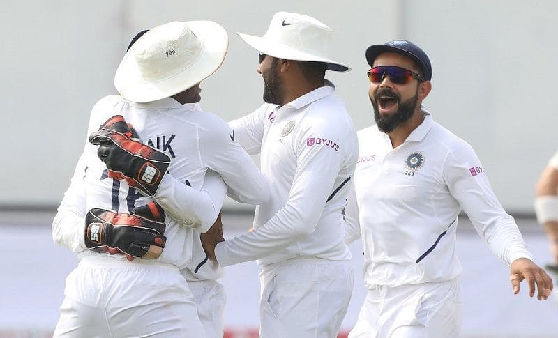 team india record of 11 consecutive test series win at home