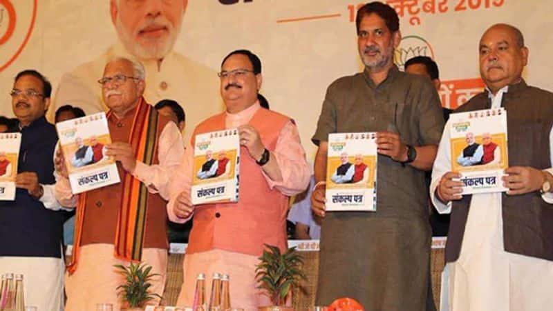 BJP releases manifesto for assembly polls, bases it on Ram Rajya concept