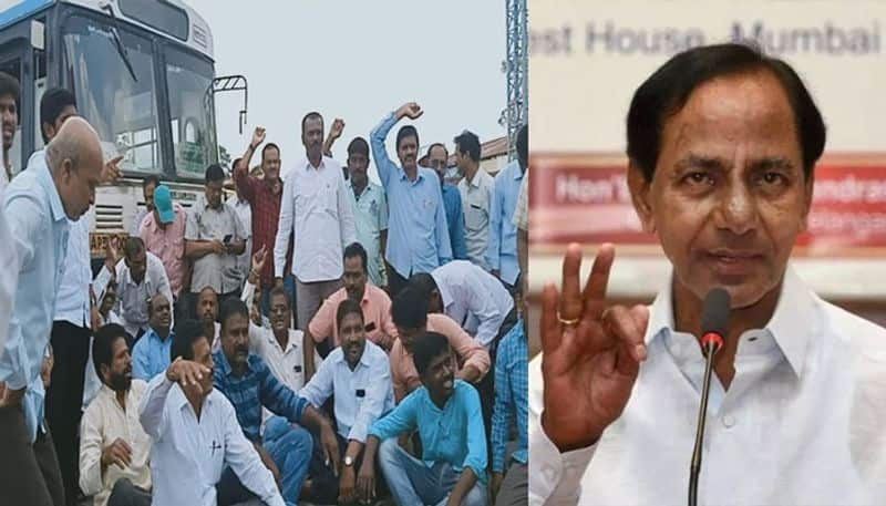 Telangana:What is the strategy of KCR government on RTC Strike