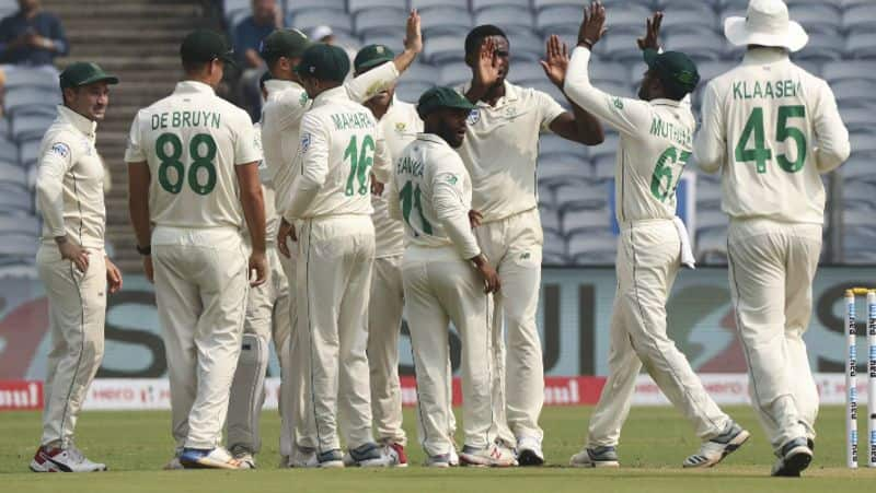 one change in south africa team for last test match against india