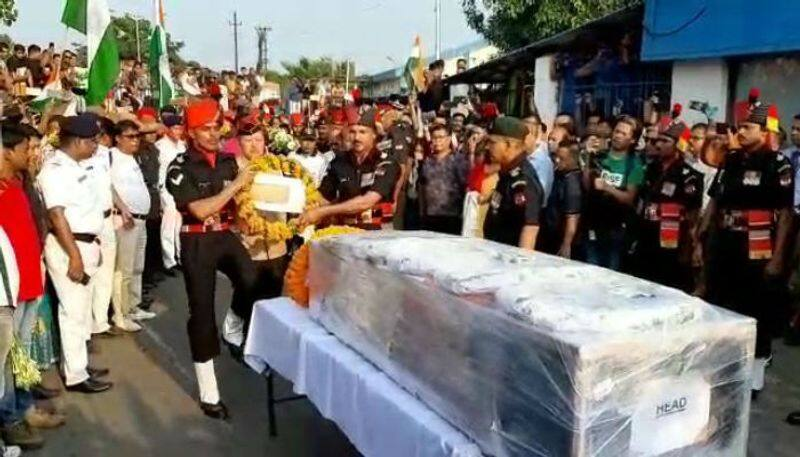 Dead body of Subhas Thapa reaches Siliguri
