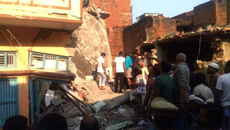 13 killed in cylinder blast in Mau, UP; two-storey building collapsed
