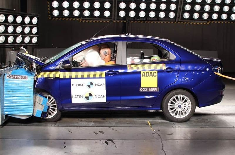 Made in India Ford Figo awarded 4-star rating by Latin NCAP