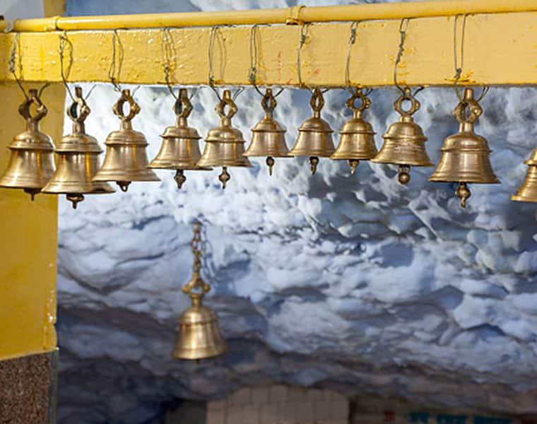 Pashupatinath Temple automatic sensor bell to avoid coronavirus spread