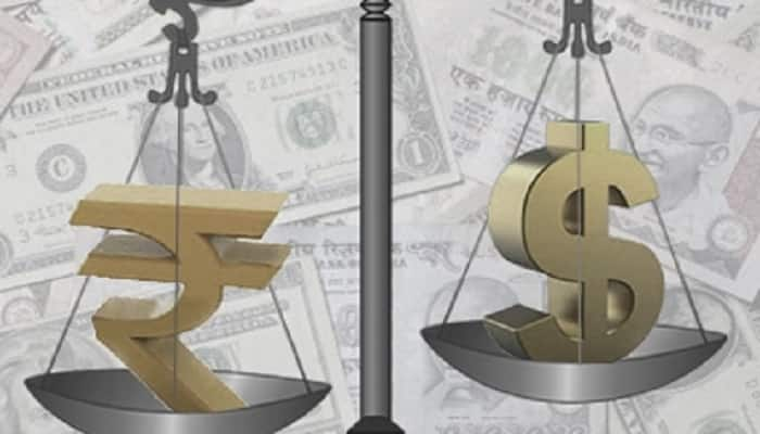 Indian currency rise and american dollar fall down
