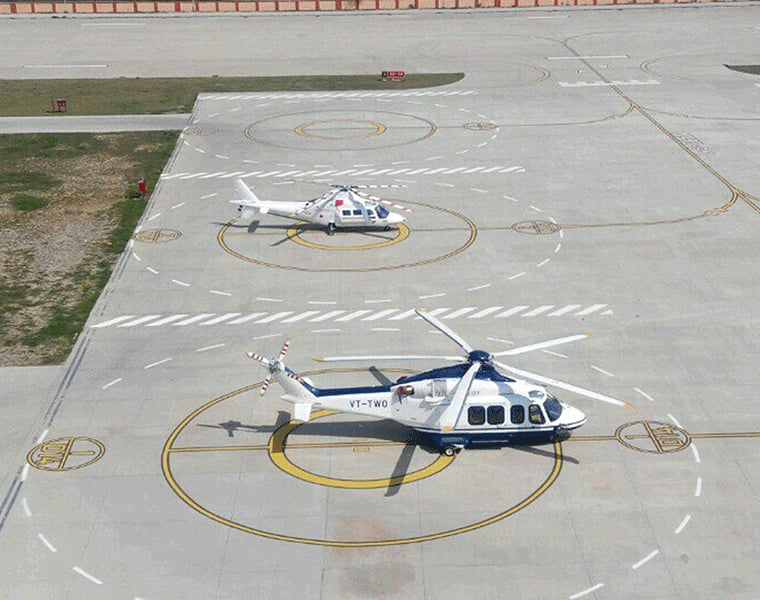 Likely Heliport Build Near Hubballi Airport  grg