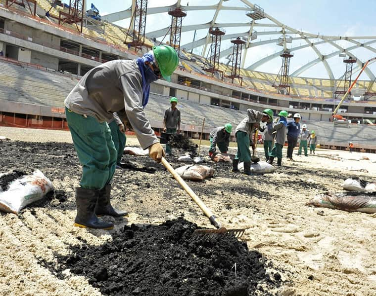 Qatari company helping build 2022 FIFA World Cup stadium banned after not paying labourers for months