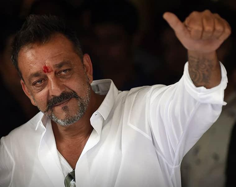 Sanju Sanjay Dutt journalists abuse Diwali party Munnabhai Bollywood