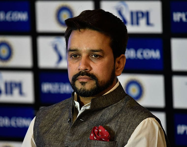 Minister of state finance Anurag Thakur responds to demonetisation heckle at ACMA event
