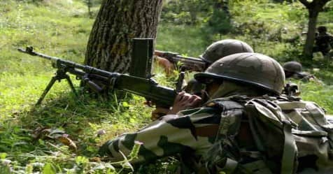 Two terrorist gunned down at Jammu and Kashmir's Sopore
