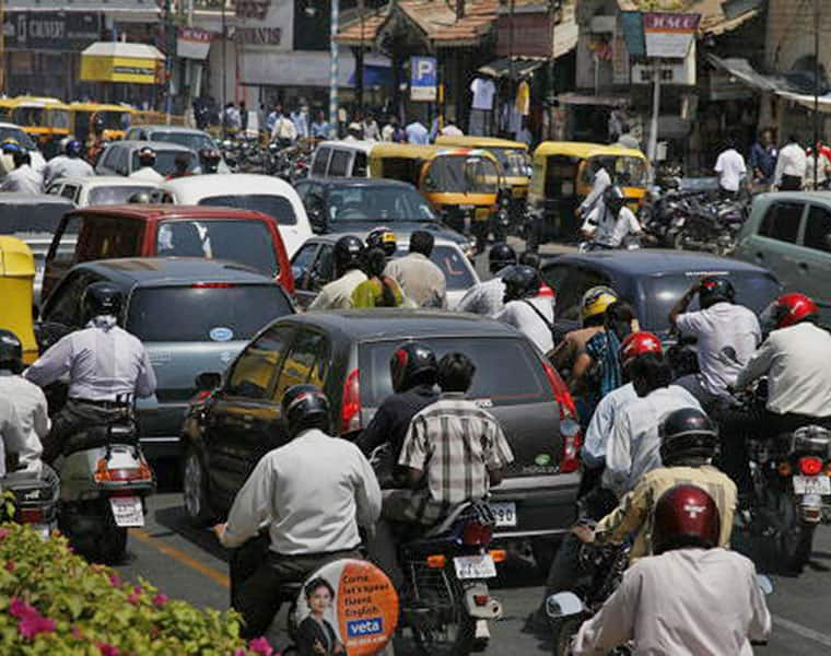 Five lakh vehicles added to Bengaluru's busy roads