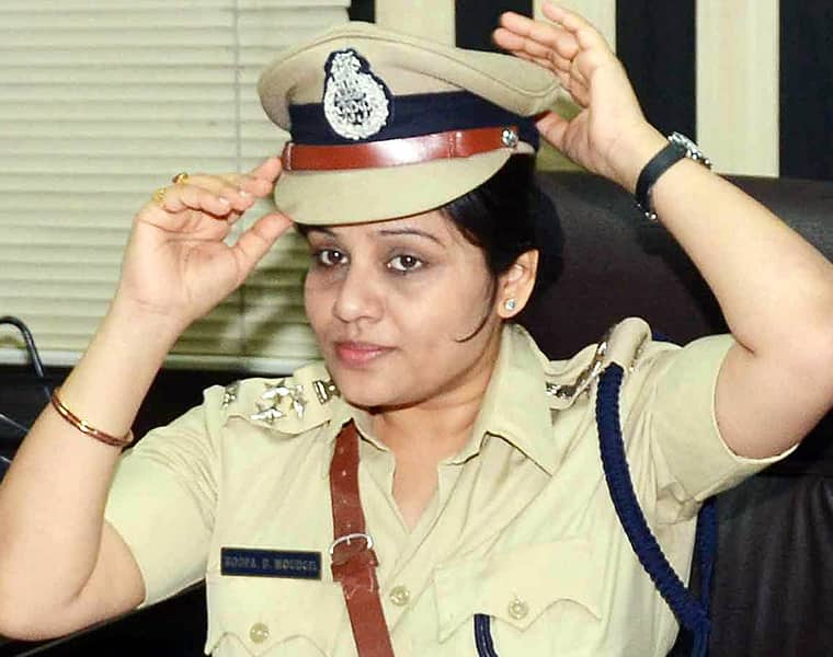 illegal money collected by using the name of DIG D Roopa