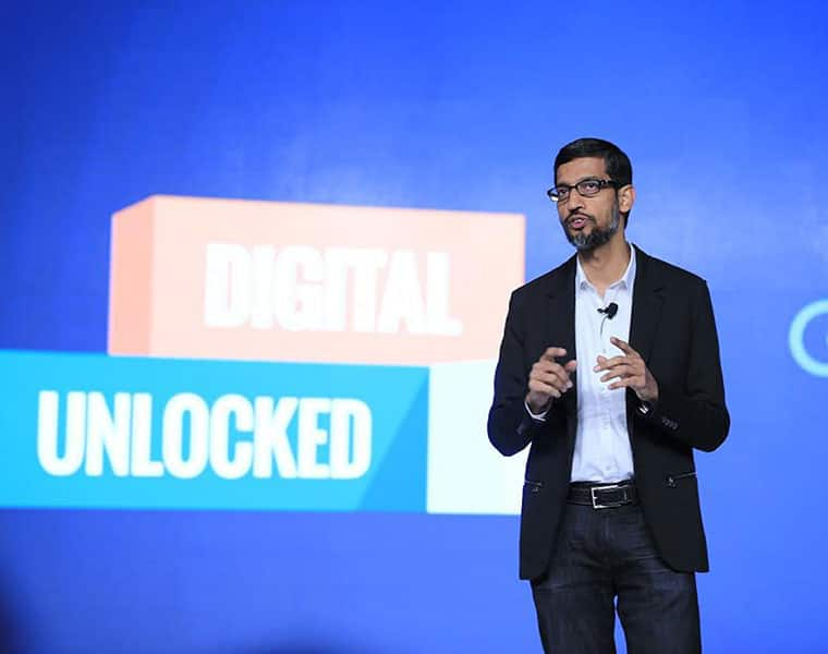 sundar pichai denied to accept 405 crores salary hike in the year of 2017-2018