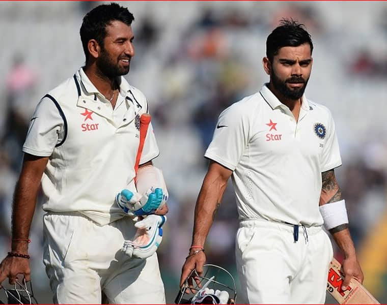 Ind Vs Eng  At lunch India are 100 for 2