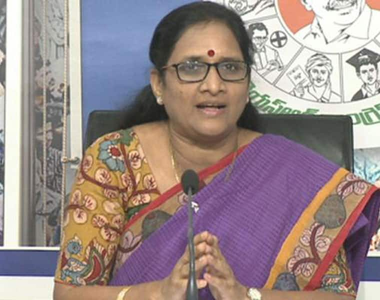 AP women  commission chairperson order to punish health staff at Rims in Kadapa district lns
